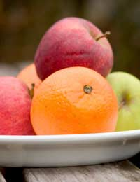 Apples Oranges Antioxidants Vitamins