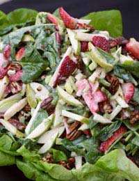 Spinach Salad Food Diet Nutrients Health